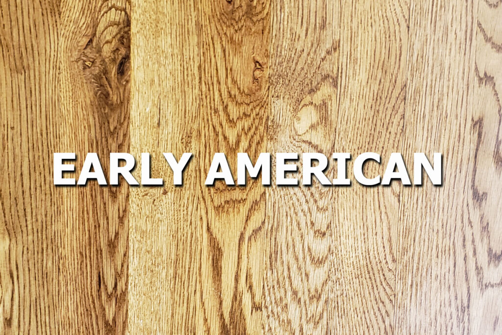 early american stain sample