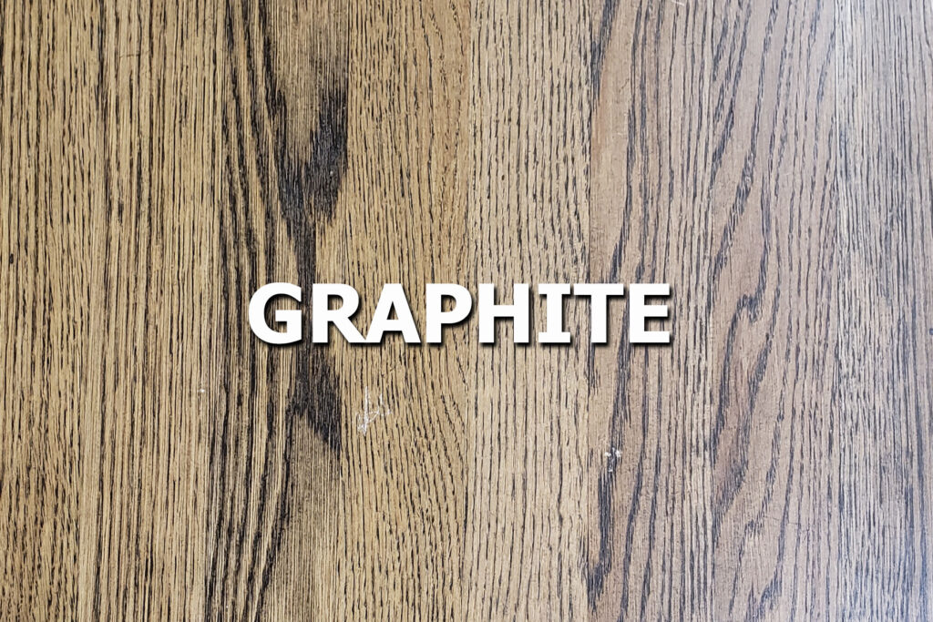 graphite stain sample