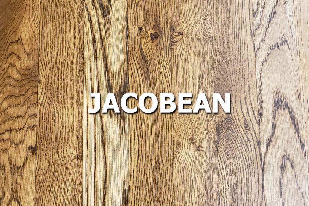 jacobean stain sample