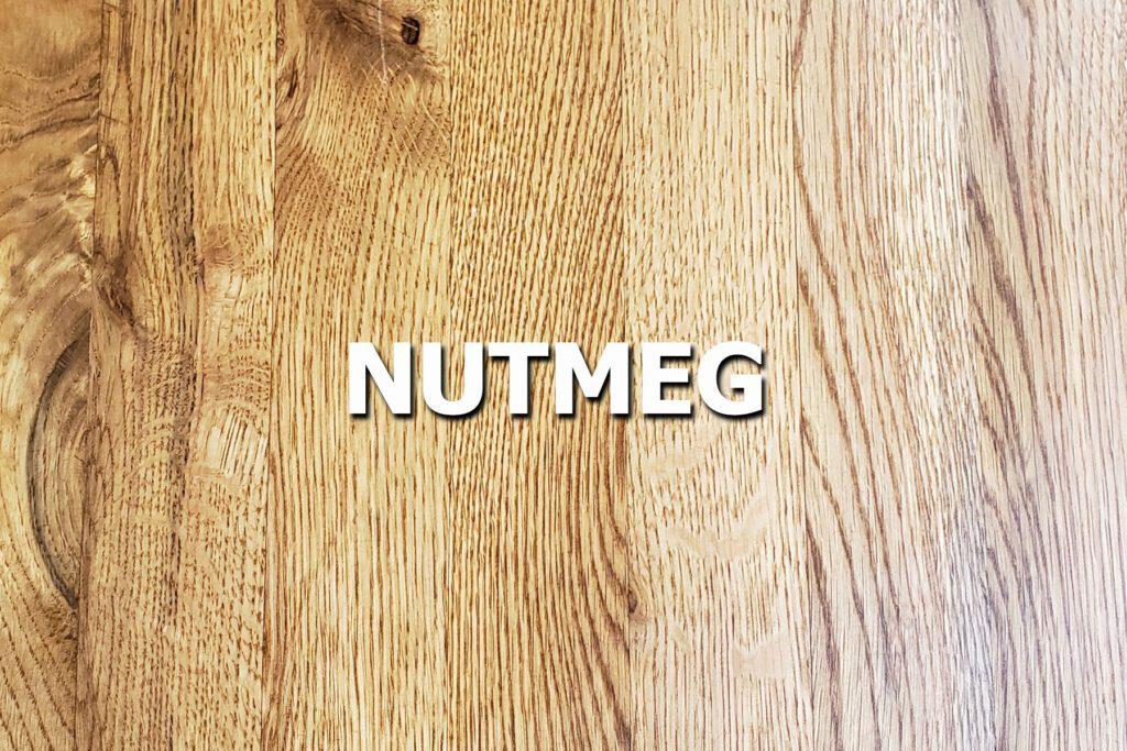 nutmeg sample stain