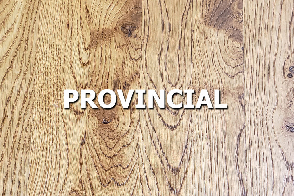 provincial stain sample